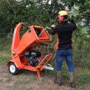 15HP Towable Petrol Chipper